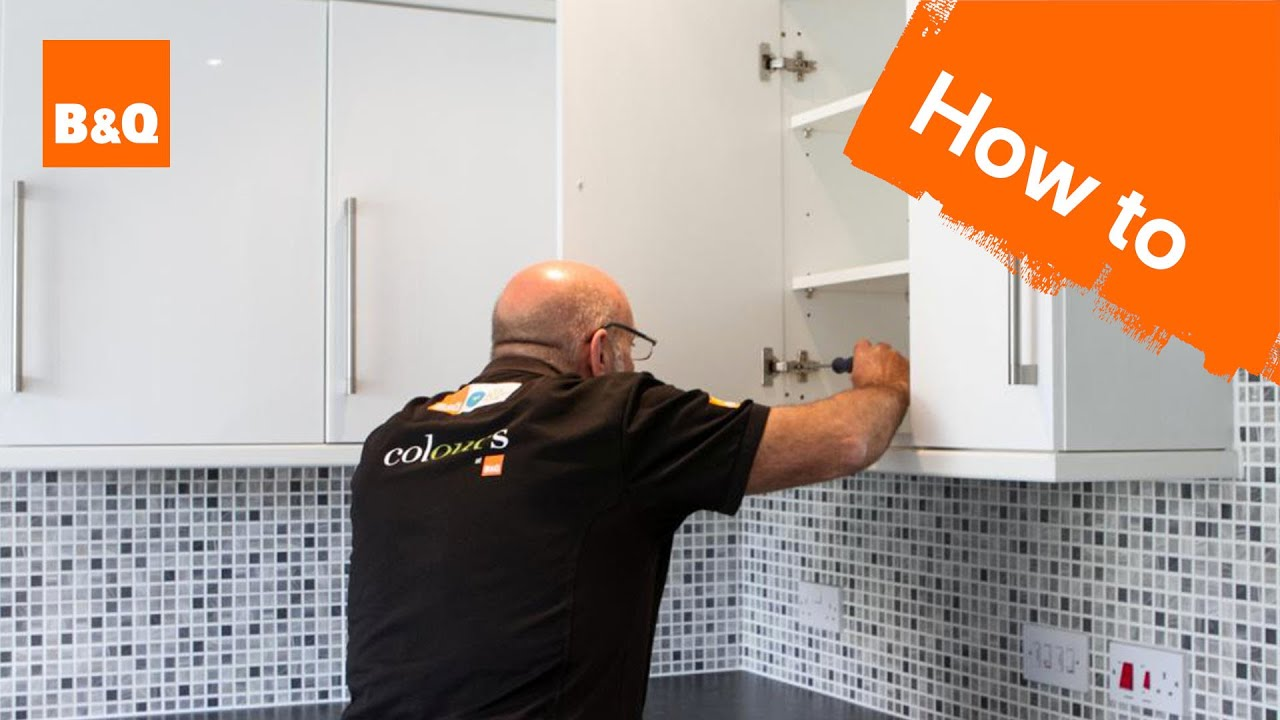 B&q Kitchen Design Jobs How To Replace Kitchen Unit Doors Youtube