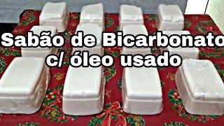 Sabão de Bicarbonato com Olho Usado