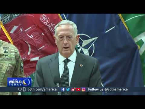 US Defense Secretary visits Afghanistan following deadly attack