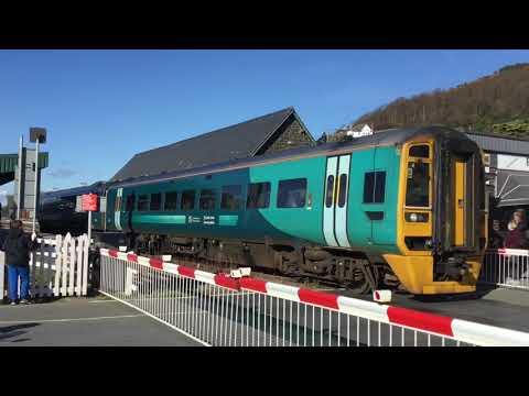 Trains at Barmouth 29/10/18