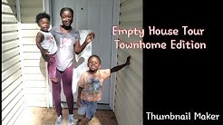 Empty House Tour -(from low income housing to Townhome)