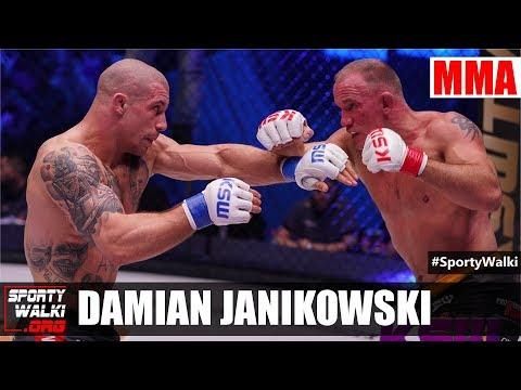 Damian Janikowski: Presja, agresja, to mój styl walki. Wideo