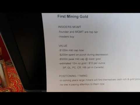 First Mining Gold PROS & CONS