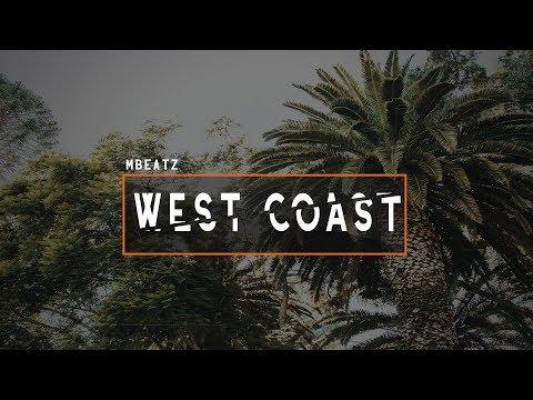 """""""West Coast"""" Freestyle Beat Rap Instrumental Hip Hop│Mbeatz"""