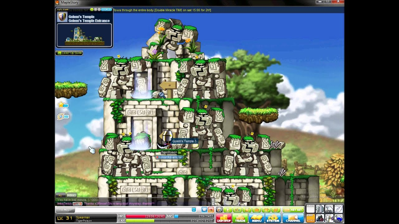 maple story best leveling guide 1 30 2012 explorer youtube rh youtube com maplestory leveling guide 2017 MapleStory Gameplay