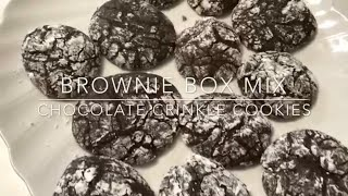 One Big Dance Party (Episode 16) : Brownie Mix Crinkle Cookies