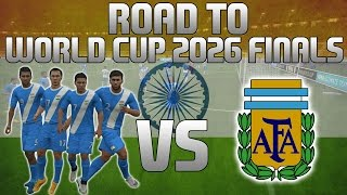 FIFA 16 | Road To The World Cup 2026 Finals! | Episode 2 | ARGENTINA!