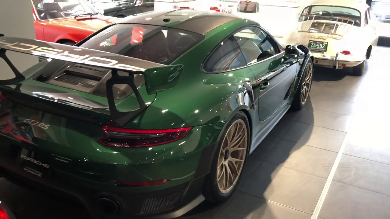 2018 Porsche 911 Gt2rs British Racing Green Youtube