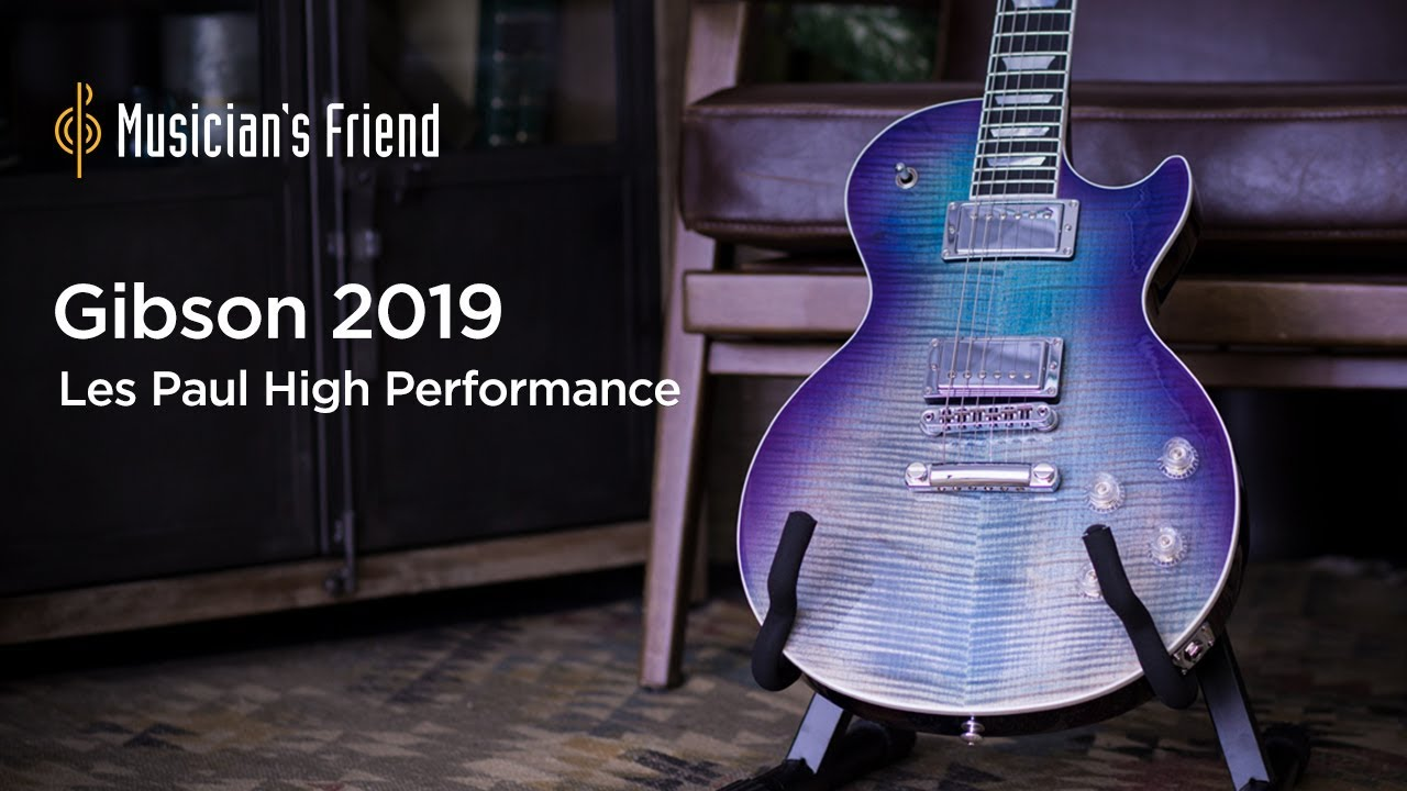 Gibson 2019 Les Paul High Performance Electric Guitar Demo