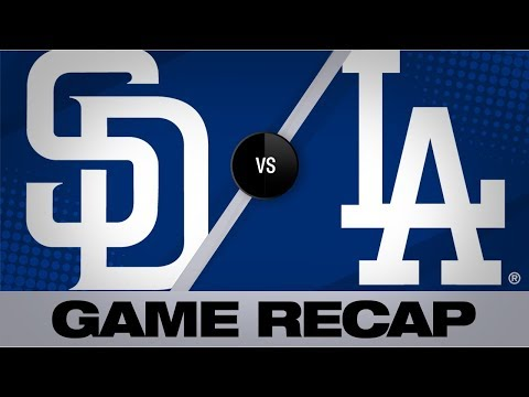 Bellinger, Ryu lead Dodgers to a 5-1 victory | Padres-Dodgers Game Highlights 7/4/19