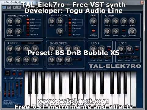 TAL-Elek7ro - Free VST synth - vstplanet.com