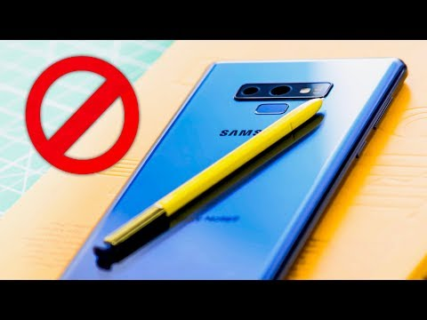 The Problem With The Galaxy Note 9.