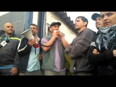 PepsiCo: Maxi, trabajador de Stani, en acto desde la plata de Florida