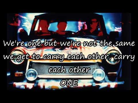 U2 - One (lyrics)