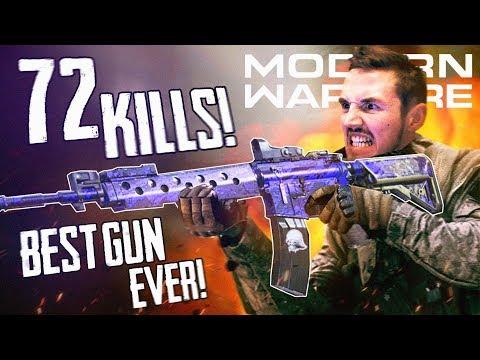 THE BEST GUN IN MODERN WARFARE! (70+ Kills)