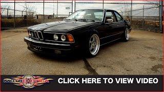 1989 BMW 635 CSi (SOLD)