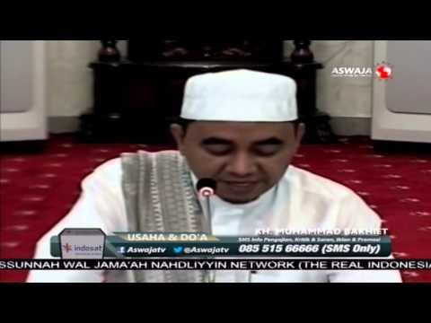 KH. Muhammad Bakhiet - Usaha dan Doa