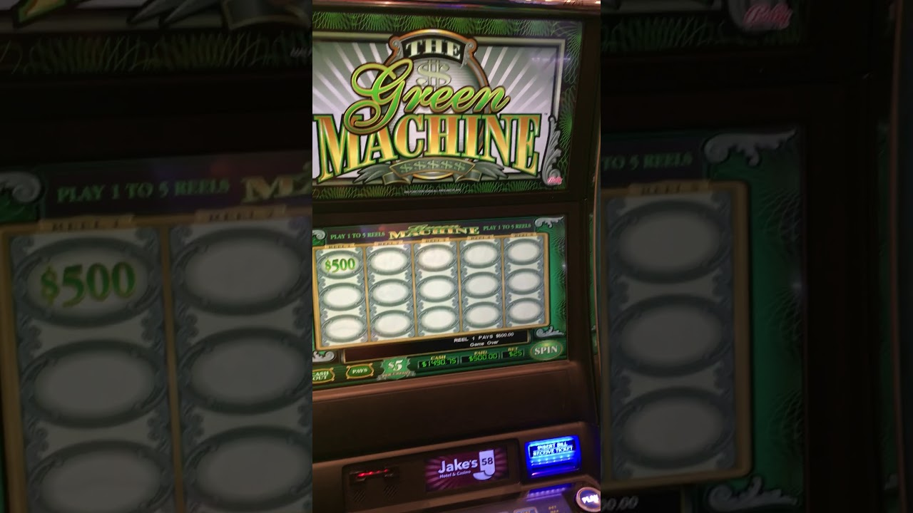 Green Machine Slots