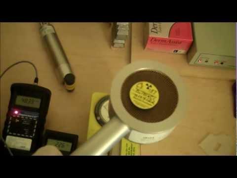 Geiger Counter vs. Scintillator