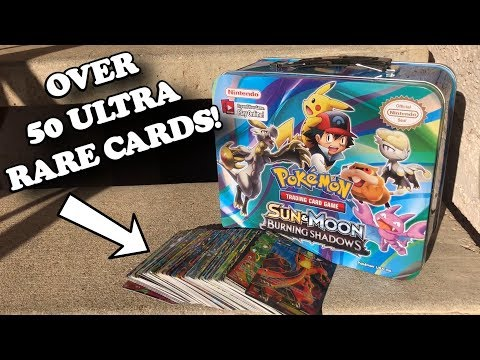 I PULLED OVER 50 ULTRA RARE POKEMON CARDS IN JUST ONE SINGLE TIN! *crazy opening*