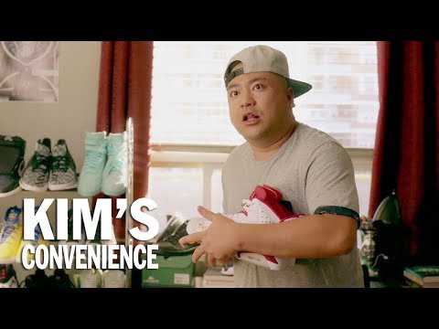 Limited edition sneakers are no match for burrito juice | Kim's Convenience