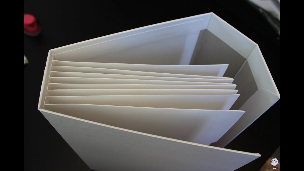 Como hacer un binding con bolsillos muy resistente para - Como hacer un album scrapbook ...