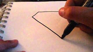 ‪How To Draw Superman Logo !  D‬‏   YouTube