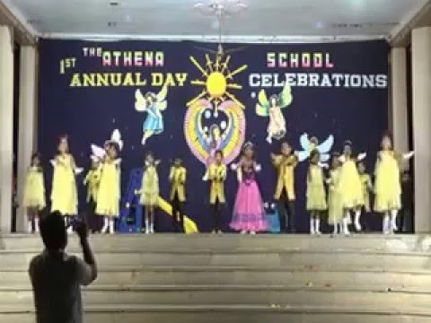 the athena school annual day dance program by ln un kids