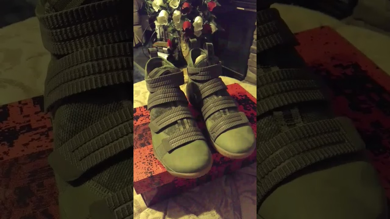 3eae080babd Lebron 11 Soldiers Olive - YouTube