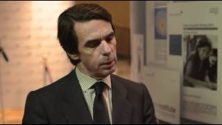 AIC 2012 Interview: Jose Maria Aznar, former Prime Minister of Spain