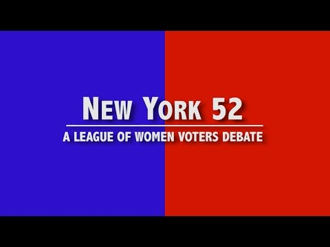 New York 52: A League of Women Voters Debate