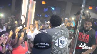 Kevin Gates performing at Black Diamonds Jackson, Mississippi