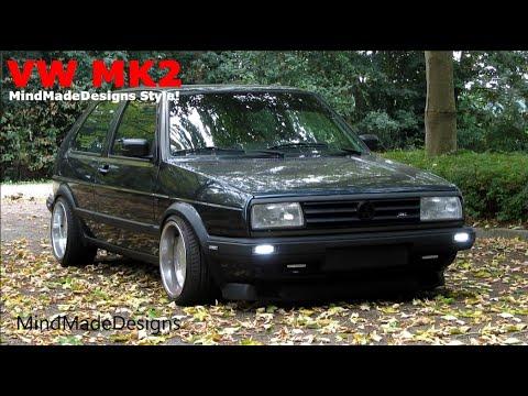 VW Golf Mk2 Turn Signal + DRL LED Edition