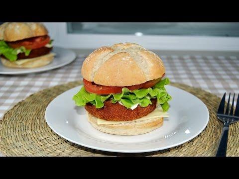 Crispy Fried Fish Burger - Easy Fish Sandwich Recipe