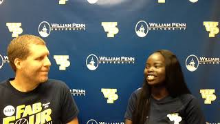 William Penn Athletics Anna Matthew Interview 9-14-18