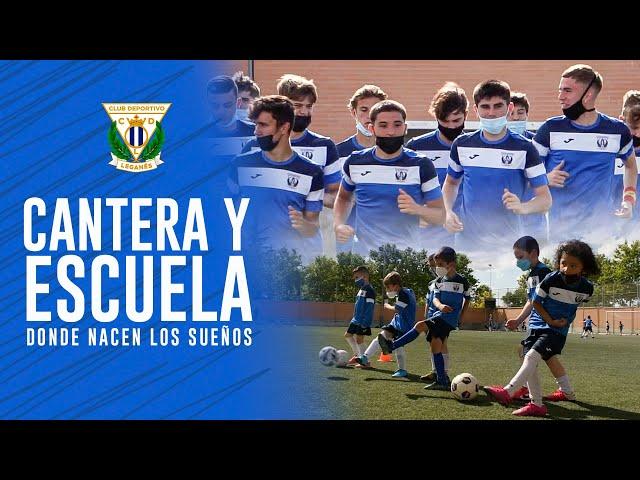 ⚽️💫 La Cantera y Escuela del C.D. Leganés, donde nacen los sueños