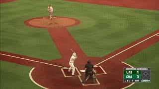 Charlotte49ers Baseball vs. UAB Game Highlights