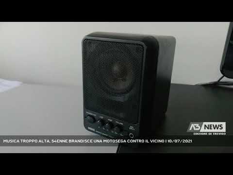 MUSICA TROPPO ALTA, 54ENNE BRANDISCE UNA MOTOSEGA CONTRO IL VICINO | 10/07/2021