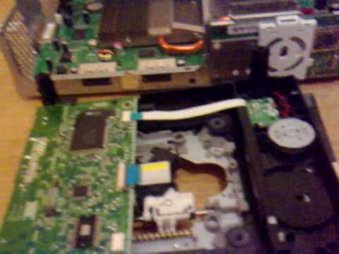 how to fix the tray opener on an xbox 360