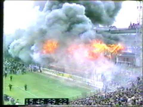 Crowd Safety - Bradford Fire with Police Radio