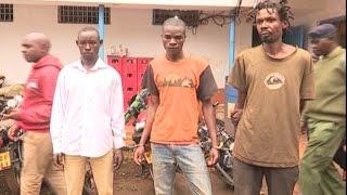 Washukiwa wa ujambazi na ubakaji wakamatwa Kiambu