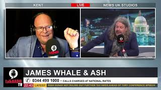 TalkRadio | Fiona Atkinson talks with James Whale & Ash Gould | 4 October 2021 | Insulate Britain