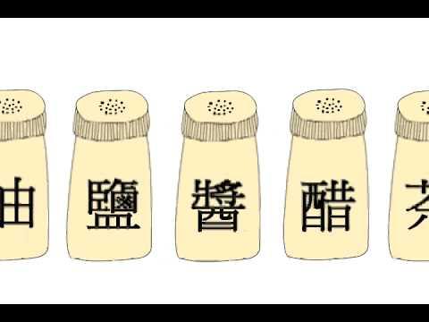 育達多遊992-2D動畫基礎 柴米油鹽醬醋茶MV - YouTube