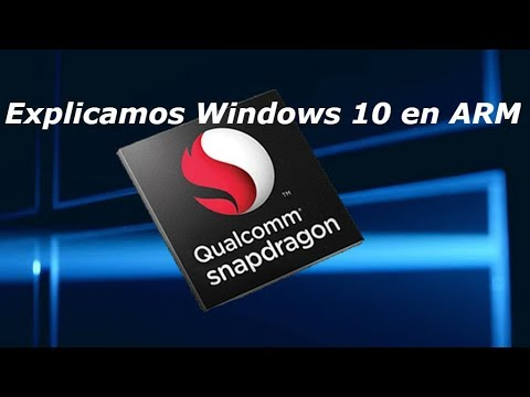 Windows 10 en ARM - Qualcomm