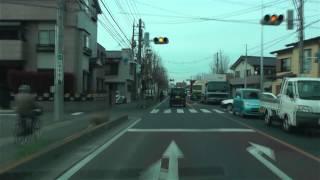 [drive japan]草加市-越谷市をドライブ 埼玉県道49号(Central Soka-Koshigaya)