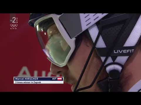 Marcel Hirscher ▪ 2nd Ride for win Slalom in Zagreb | 4/1/2018