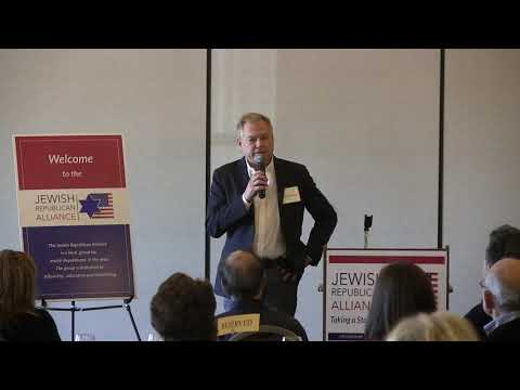 Jewish Republican Alliance Presents Buzz Patterson