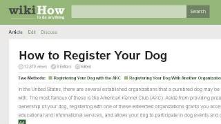 How-To Register A Purebred Puppy