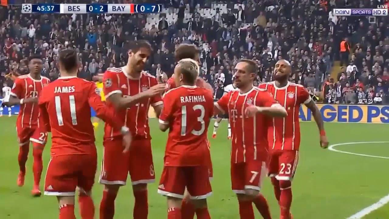 Download Bayern Munich vs Besiktas 3-1 All Goals & Highlights 14/03/2018 HD