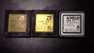 AMD K5 vs K6